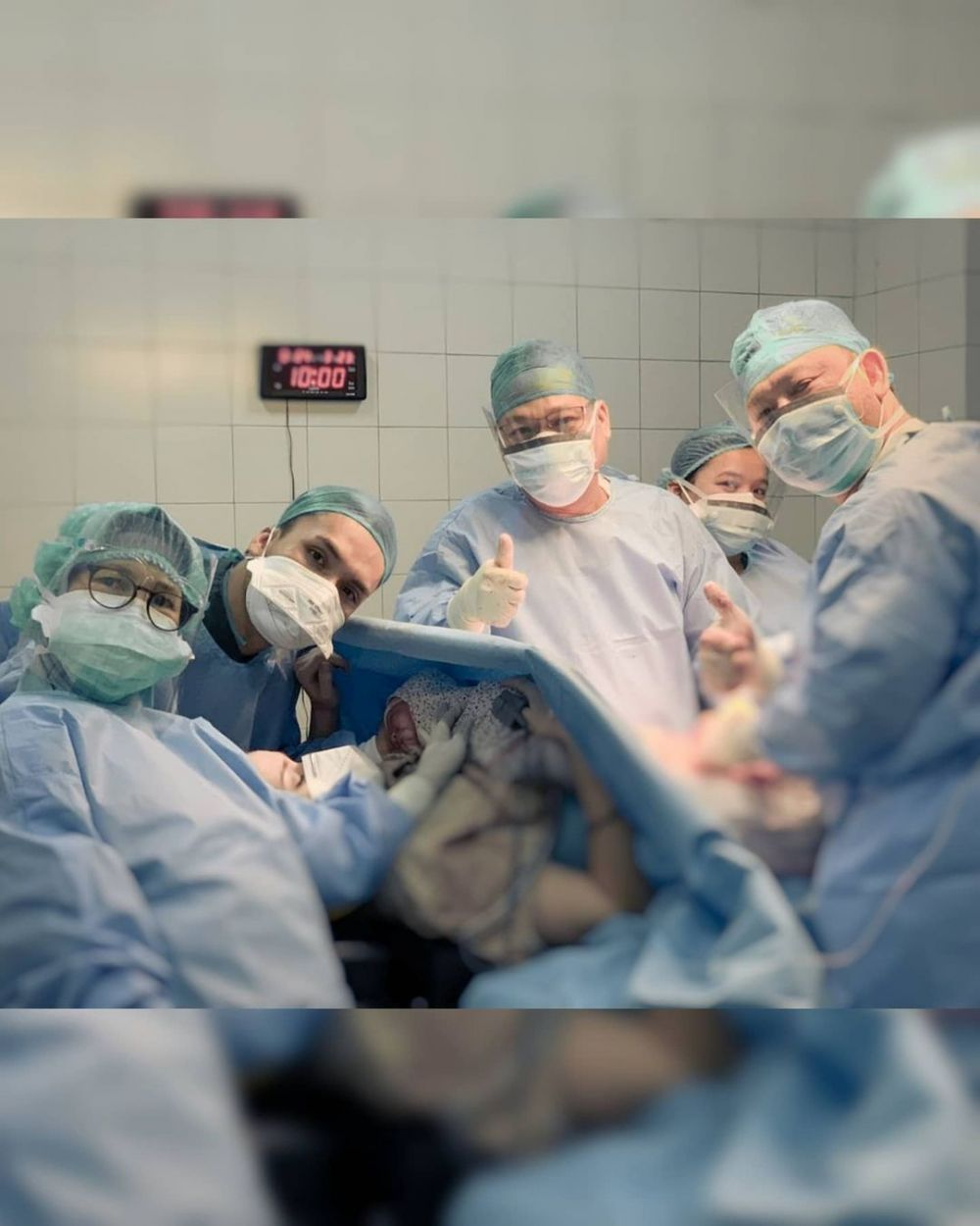 istri randy pangalila melahirkan © Instagram