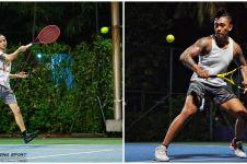 Gaya 8 seleb cowok olahraga tenis, Desta bak atlet profesional