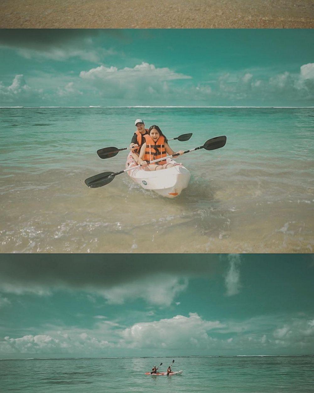momen jeje soekarno liburan bareng prilly © Instagram