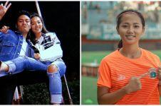 10 Potret Basia Putri, pesepak bola wanita kekasih Mahen