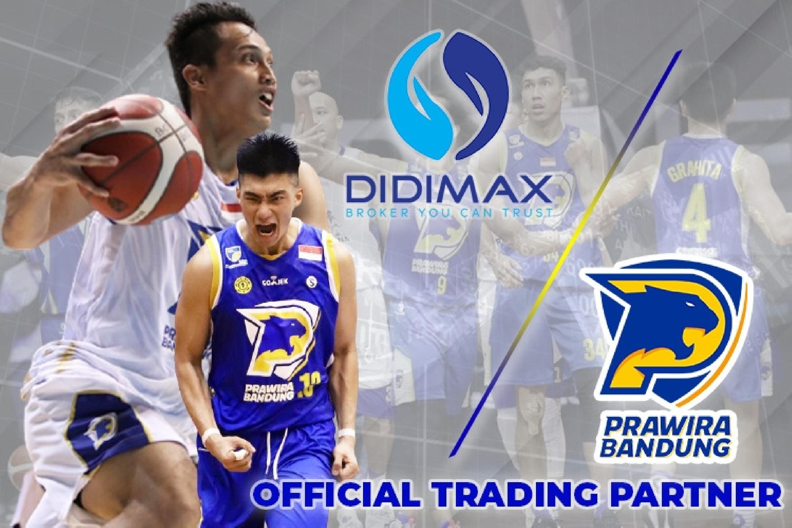 Didimax Berjangka sponsori tim bola basket Prawira Bandung di IBL 2021