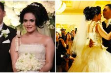 10 Potret lawas resepsi pernikahan Krisdayanti dan Raul, bak konser