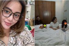 10 Momen pingitan Aurel Hermansyah, minta tidur bareng keluarga