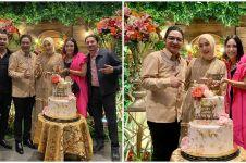 10 Momen wedding anniversary Pasha Ungu ke-10, meriah bertabur artis