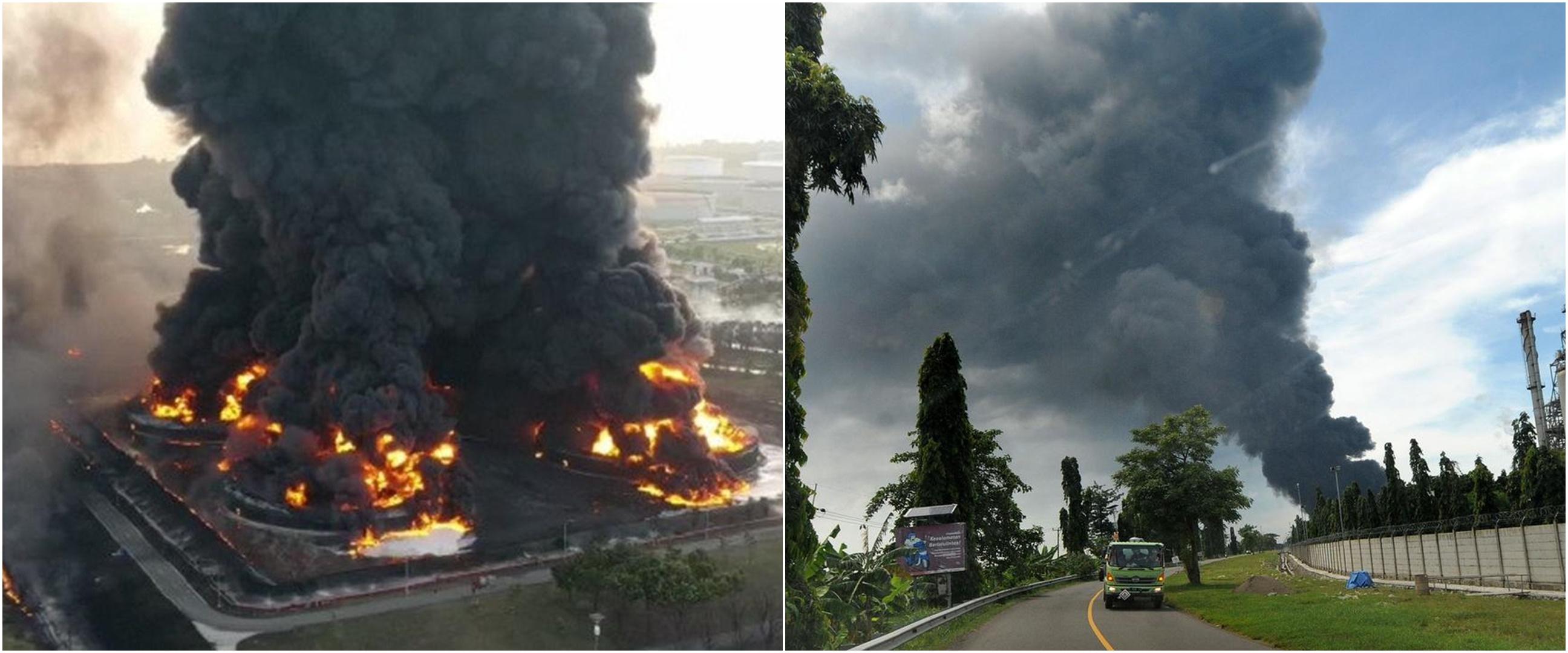 Kilang minyak Balongan Indramayu terbakar, ini 5 pernyataan Pertamina