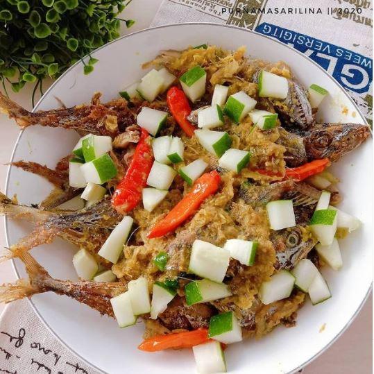Resep lauk olahan ikan tenggiri © Instagram