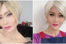 Biasa pakai wig, 8 pesona Inul tunjukkan rambut asli ini tuai pujian