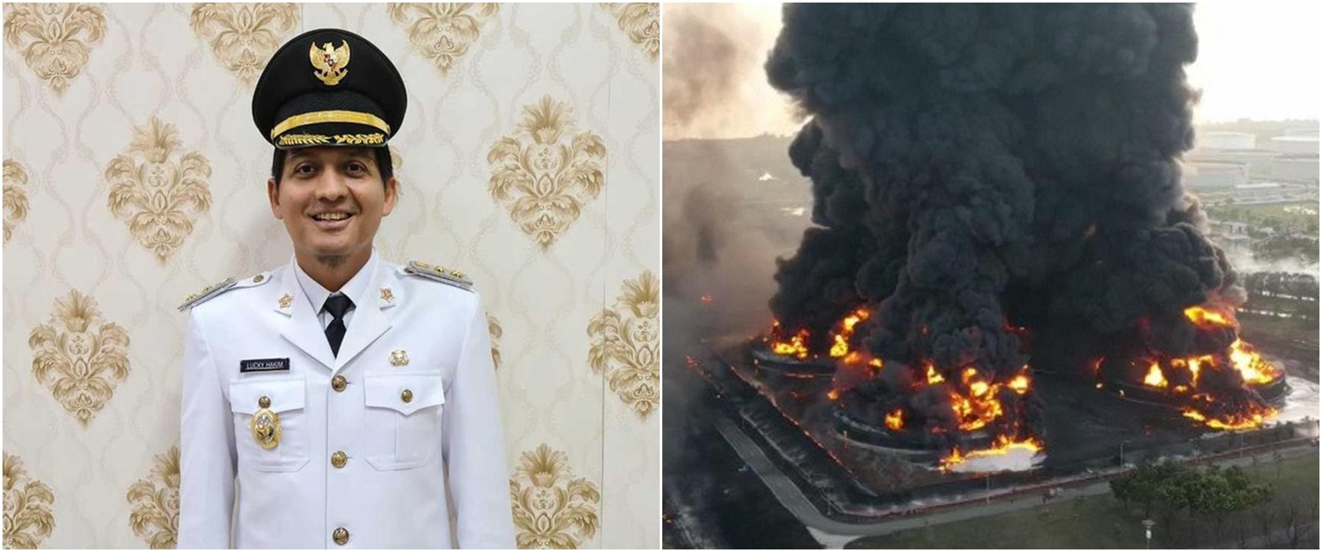 Lucky Hakim ceritakan saat kilang minyak Indramayu terbakar, bak petir