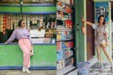 10 Pesona Andien Aisyah pemotretan di tempat tak biasa, estetik abis