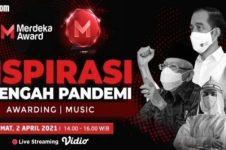 Merdeka Award 2021 live 2 April, apresiasi untuk sosok inspiratif