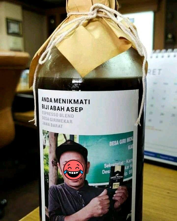 Tulisan lucu di minuman © berbagai sumber
