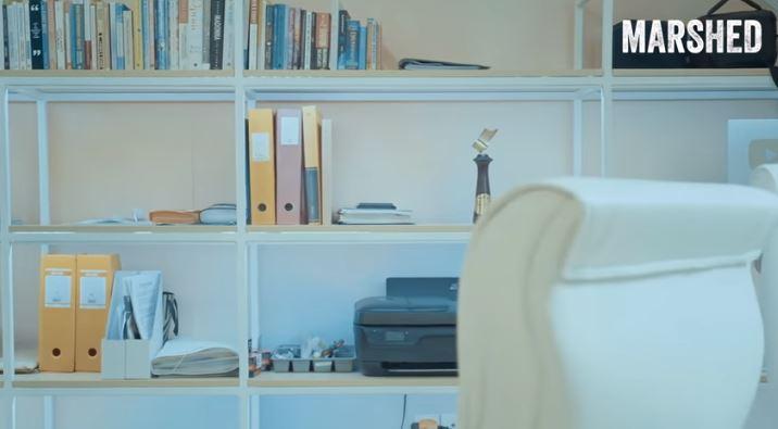 Potret ruang kerja Marshanda YouTube