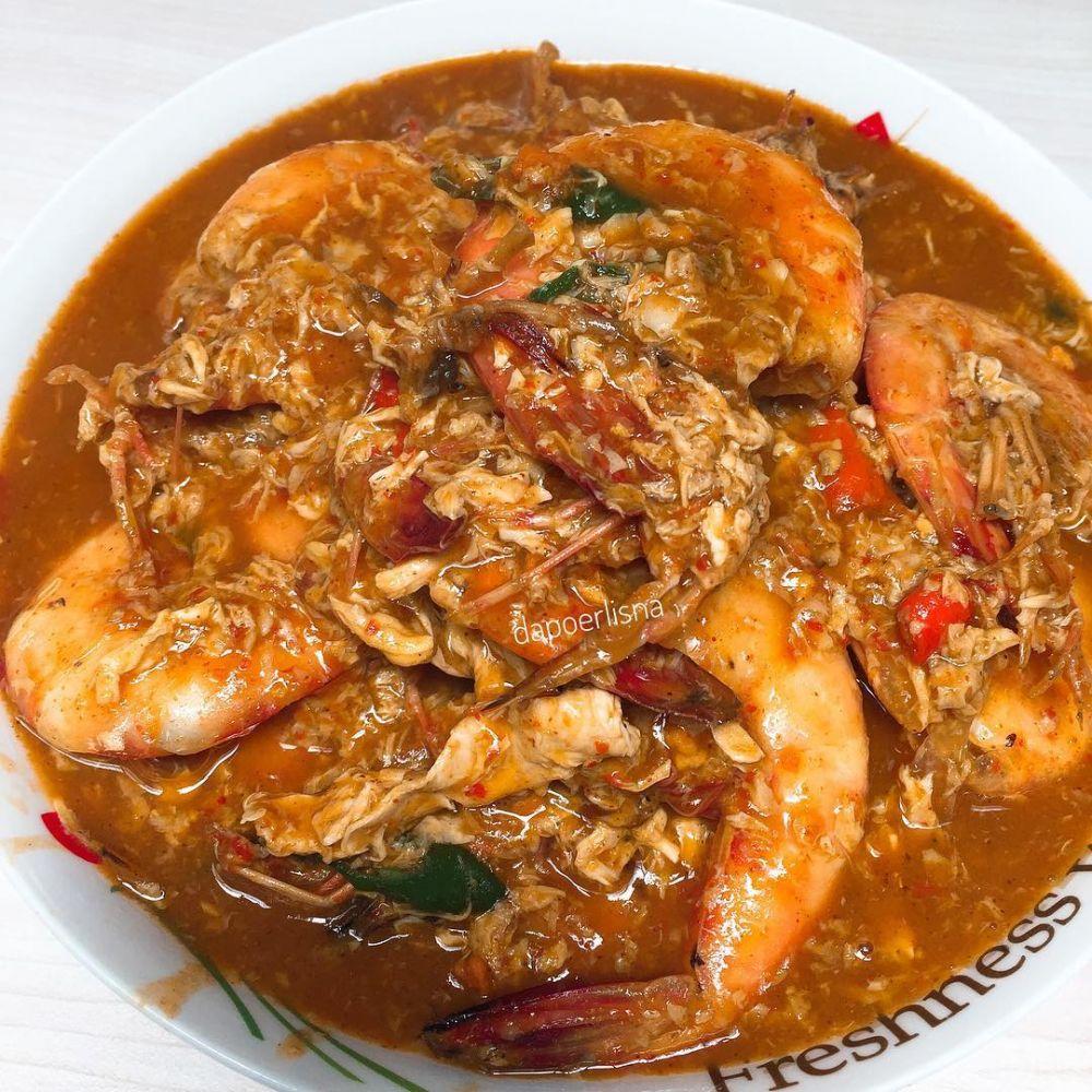 Resep seafood pedas ala rumahan © Instagram
