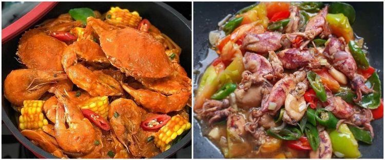 15 Resep seafood pedas ala rumahan, nikmatnya nampol bikin ketagihan