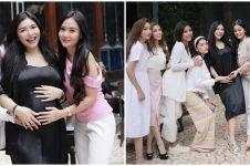 10 Potret baby shower Rica Andriani, makin meriah dihadiri sahabat