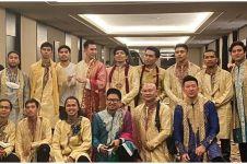 Gaya 7 seleb di pesta lepas bujang Atta Halilintar, curi perhatian