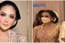 8 Pesona Krisdayanti di pernikahan Atta Halilintar & Aurel Hermansyah