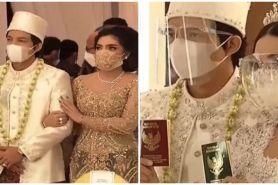 10 Momen pernikahan Aurel Hermansyah & Atta Halilintar, penuh khidmat