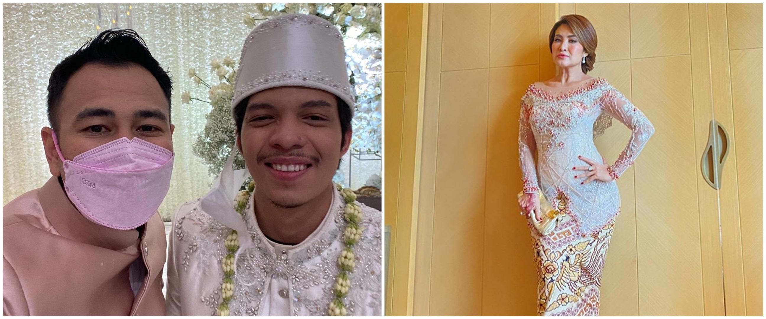 Gaya 7 seleb di pernikahan Atta Halilintar dan Aurel Hermansyah