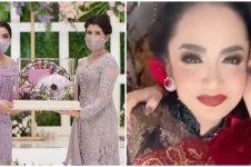 10 Momen kompak Ashanty dan Krisdayanti di pernikahan Atta dan Aurel