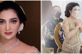 10 Gaya Ashanty di rangkaian pernikahan Aurel Hermansyah, memesona
