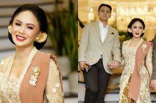 10 Gaya Yuni Shara di nikahan Atta dan Aurel, anggun maksimal