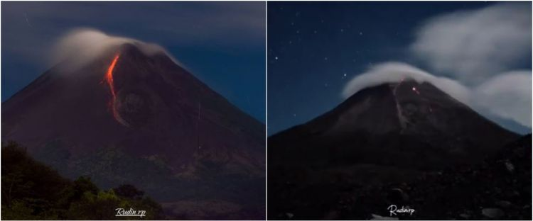 Guguran lava Gunung Merapi terjadi 11 kali dalam 6 jam, status siaga