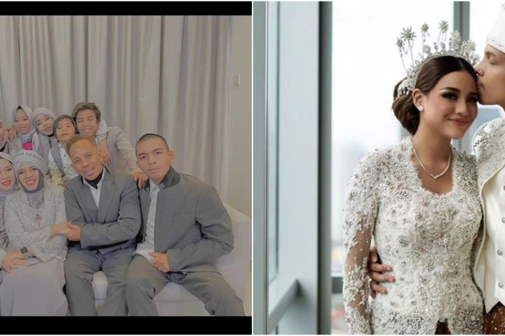 7 Momen keluarga Atta Halilintar saksikan nikahan secara virtual