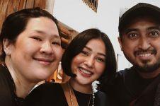 8 Momen ulang tahun Mutia Ayu ke-26, dihadiri keluarga dan sahabat