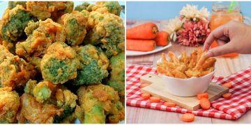 10 Resep camilan crispy dari sayur, enak dan mudah dibuat