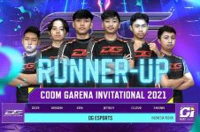 DG Esports raih runner up turnamen CODM Garena Invitational 2021