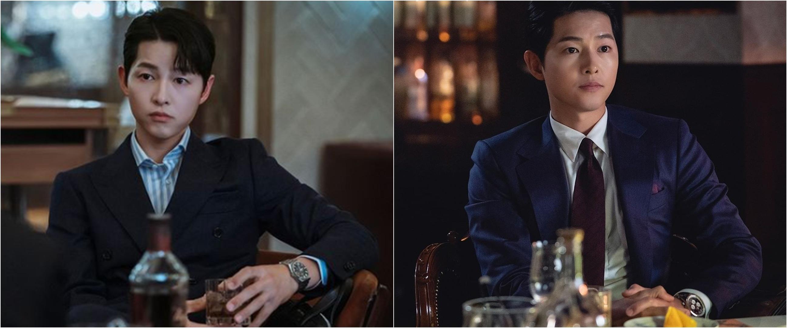 8 Potret Song Joong-ki di drama Korea Vincenzo, gagah dan memesona