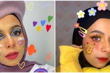 10 Potret Dilla Jaidi, adik Fadil Jaidi yang hobi makeup