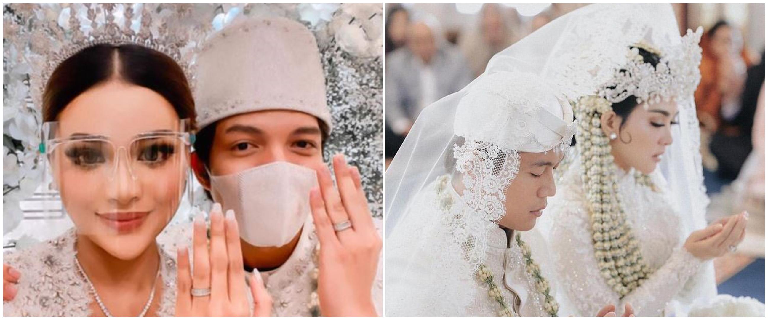 10 Pernikahan artis yang hadirkan pejabat sebagai saksi