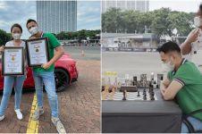 10 Momen Raffi Ahmad tantang GM Irene Sukandar, blind chess di mobil