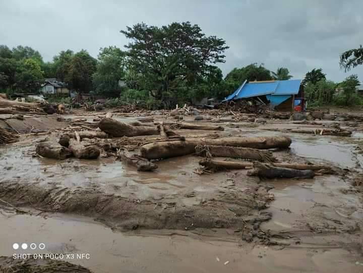 Bencana alam NTT © 2021 brilio.net
