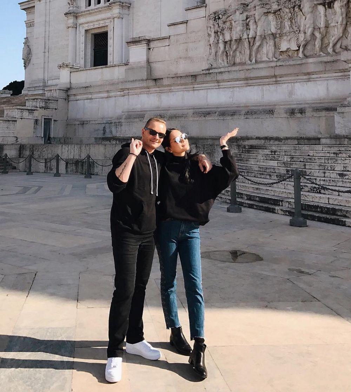 Alyssa Daguise dan ayah © Instagram