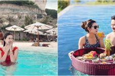 8 Momen Syahnaz Sadiqah dan Jeje Govinda liburan di Bali tanpa anak