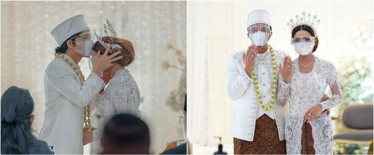 7 Potret cincin nikah Atta dan Aurel Hermansyah, harganya fantastis