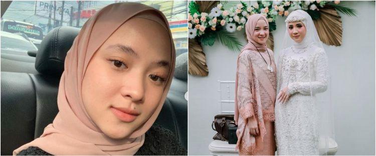 8 Potret pernikahan kakak Nissa Sabyan, cantik dan anggun