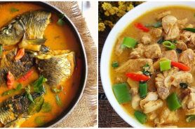 15 Resep lauk ikan berkuah, segar dan praktis untuk sajian keluarga
