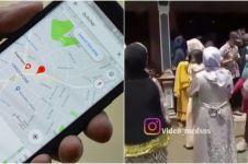 Viral kisah rombongan pengantin nyasar karena salah info lokasi