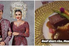 8 Potret hidangan makanan acara syukuran Atta dan Aurel, bikin ngiler