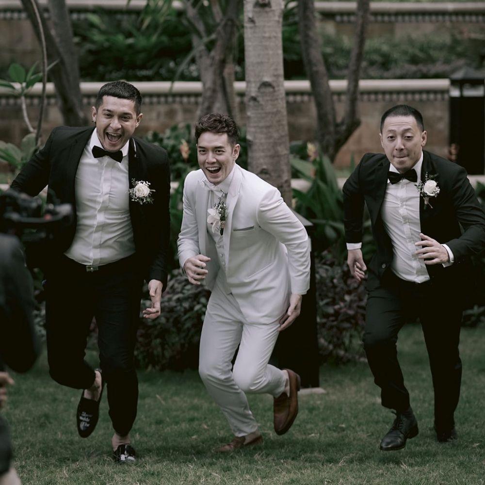 seleb jadi groomsmen © 2021 brilio.net