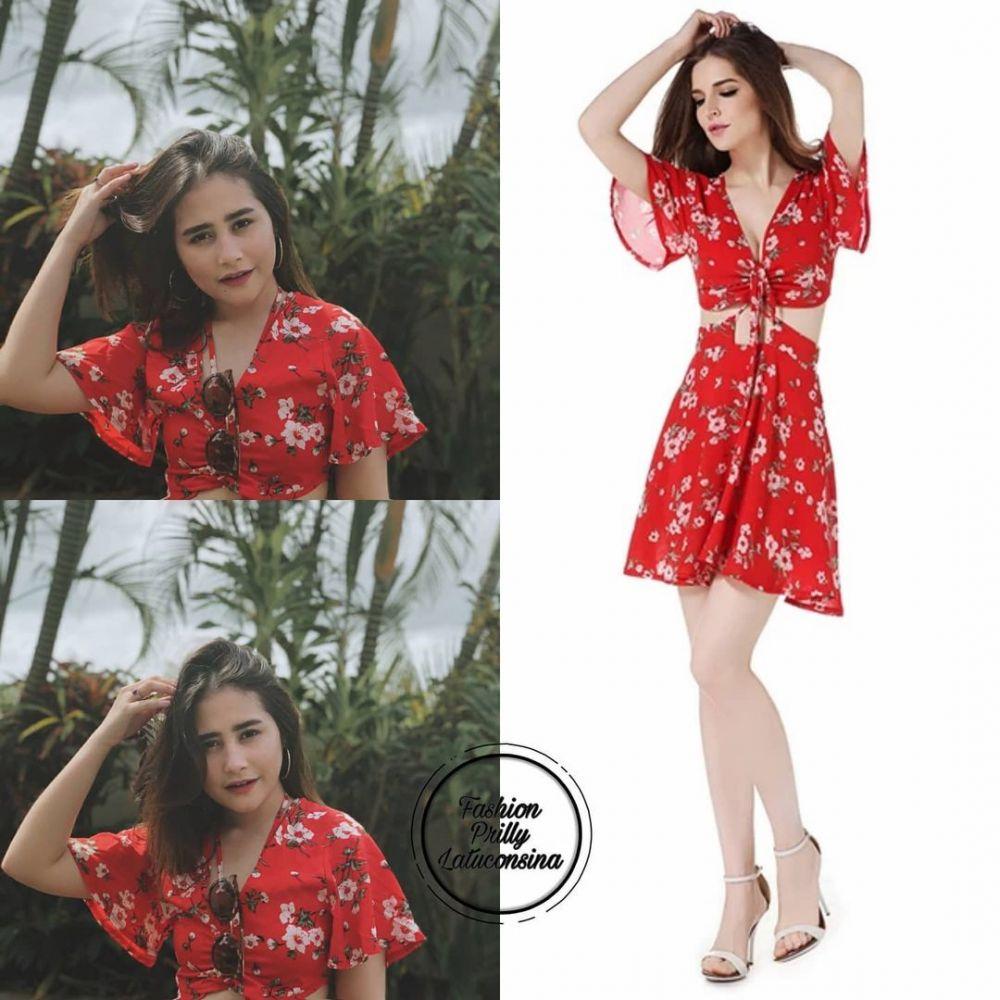 dress Prilly Latuconsina ini ditaksir di bawah Rp 500 ribu © 2021 brilio.net