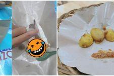 10 Potret porsi makanan ini bikin customer senyum nyesel beli