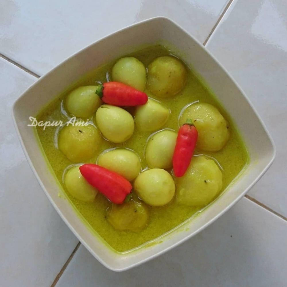 Resep kreasi telur berkuah © Instagram
