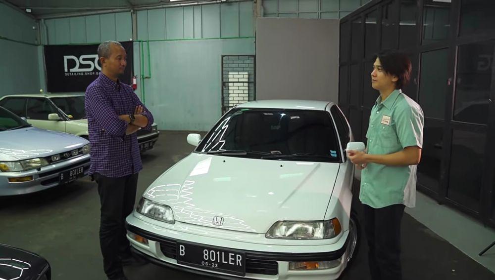 Hobi otomotif jadul, 10 momen Iqbaal Ramadhan utak-atik mobil klasik berbagai sumber
