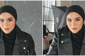10 Gaya hijab hypebeast Sivia Azizah, pesonanya makin terpancar