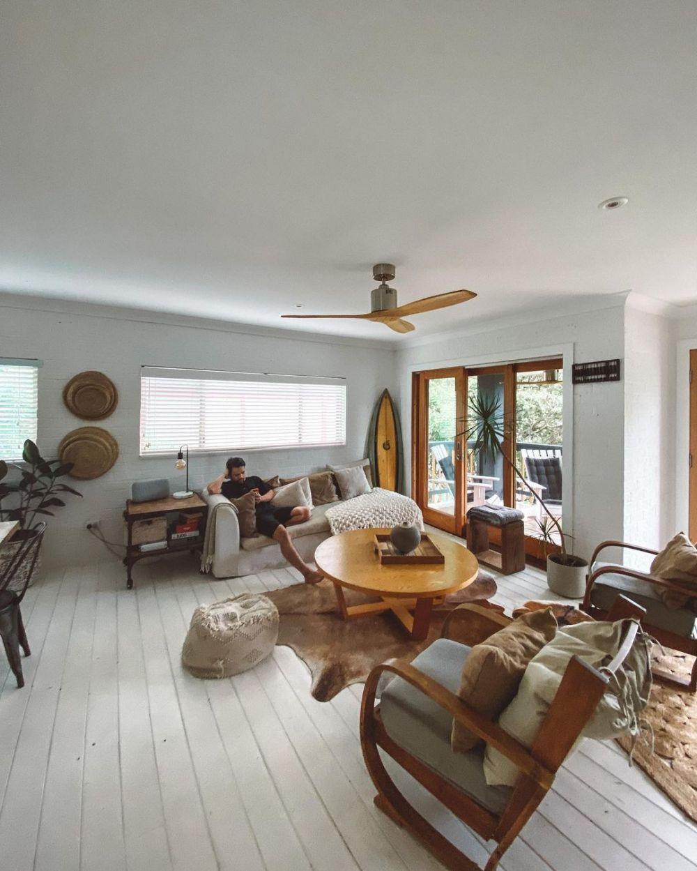 villa tempat inap Acha Sinaga di Byron Bay © 2021 brilio.net